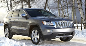Jeep's Grand Cherokee Overland Summit scales the all-weather, all-terrain heights.