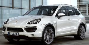 Porsche's AWD Cayenne SUV emphasizes sport over mere utility.