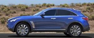 It isn't what you'd call pretty, but Infiniti's FX line does turn heads.