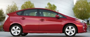 The Prius shape has become as emblematic as the Porsche 911's, although of something different.
