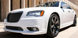 Chrysler's 2012 300 SRT8 offers both cupholders and competence.