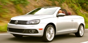For VW's Eos hardtop convertible, looks are everything.