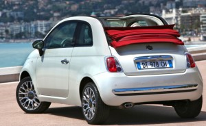 The 500C Lounge Cabrio is the grown-up Fiat—more deluxe than economy, yet still cheap to run and a delight to drive.
