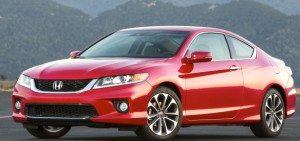 The Accord Coupe is as close as Honda comes to a grown-up sports car, at least until the mid-engine NSX re-appears in 2015. But that will be badged as an Acura and cost Porsche money. Honda photo