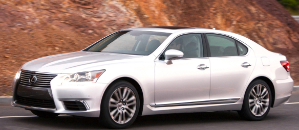In an LS460, the neighbors will see you coming. Lexus photo