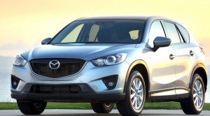 "Mazda CX-5 embodies Mazda's Kodo ""soul of motion"" design, for ""a striking stance and an illusion of constant motion, sure to turn heads even when it's sitting still."" Mazda photo"