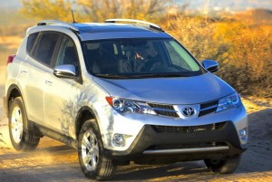 Look familiar? It should; Toyota's RAV4 has been popular for almost 20 years, during which time it grew from a mini to a compact SUV and got handsome. Toyota photo