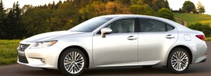 Lexus re-launched its middle sedan as the ES350 this year. For 2014, the fog lamp bulbs have been swapped out for LEDs and a couple of trim options were added. If it isn't broken . . . Lexus photo