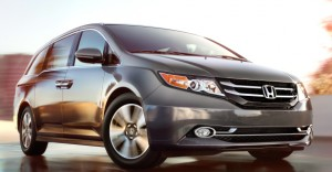 pend enough on a Honda Odyssey and you'll leave minivan territory behind and enter limousine world. Honda photo
