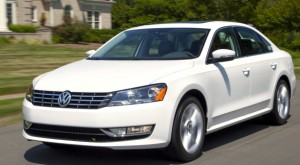 The 2014 VW Passat TDI blends American space and comfort, German road manners and attention to detail, and diesel torque and efficiency. VW photo
