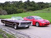 1965 and 2005 GTO