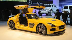 2014 Mercedes Benz SLS Black