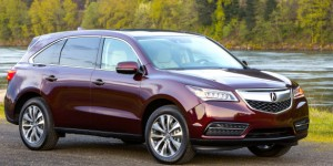 From this angle, the 2014 Acura MDX still reminds us of its second cousin, the Honda Odyssey minivan. From behind the wheel, however, it's a top-tier, driver-oriented crossover SUV. Honda photo
