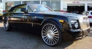 Frank Gores Rolls Royce