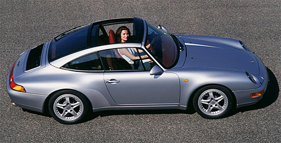 Dissecting The Trick Roof On The 2014 Porsche 911 Targa Bestride