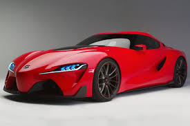 Among The Fifty Toyota Vehicles On Display In Chicago Ft 1 Sports Car Concept Will Be Front And Center This Two Door Rear Wheel Drive