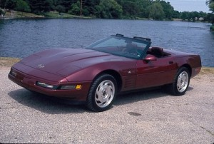Ruby Red 40th Anniversary 93 Vette