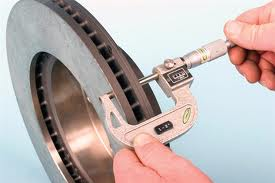 brake rotor measurement