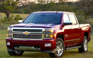 Tons of power, buckets of bling—meet the all-new and award-winning High Country 4WD Crew, the first Silverado that Chevrolet built from the ground up to be a pricey premium truck. GM