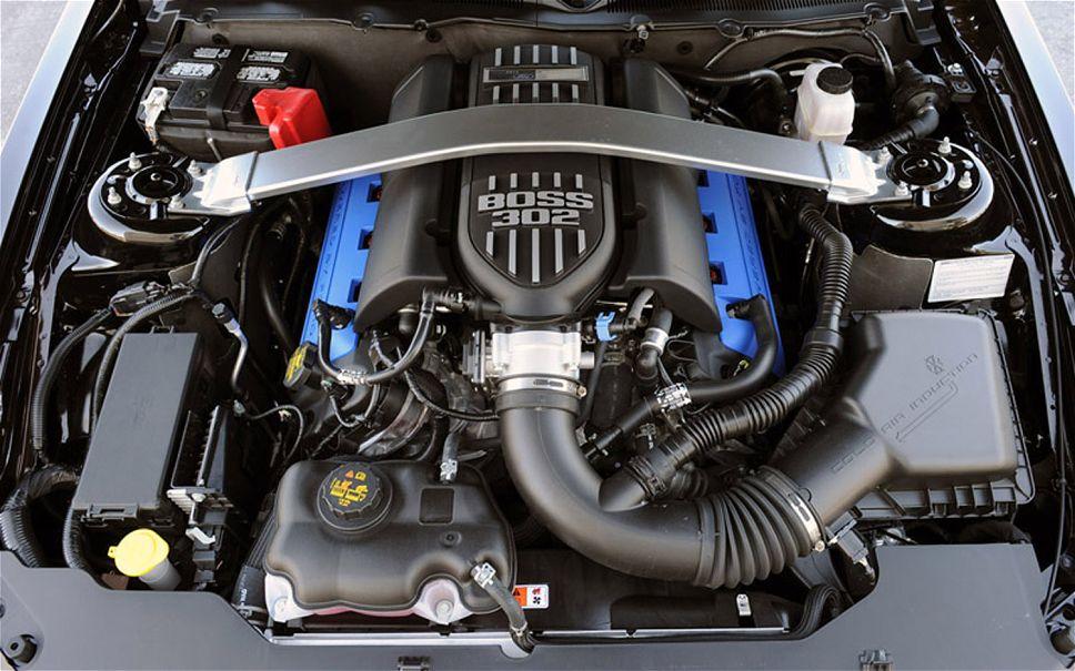 2015 Mustang engine