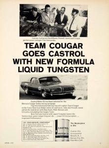 Gurney Castrol Oil ad