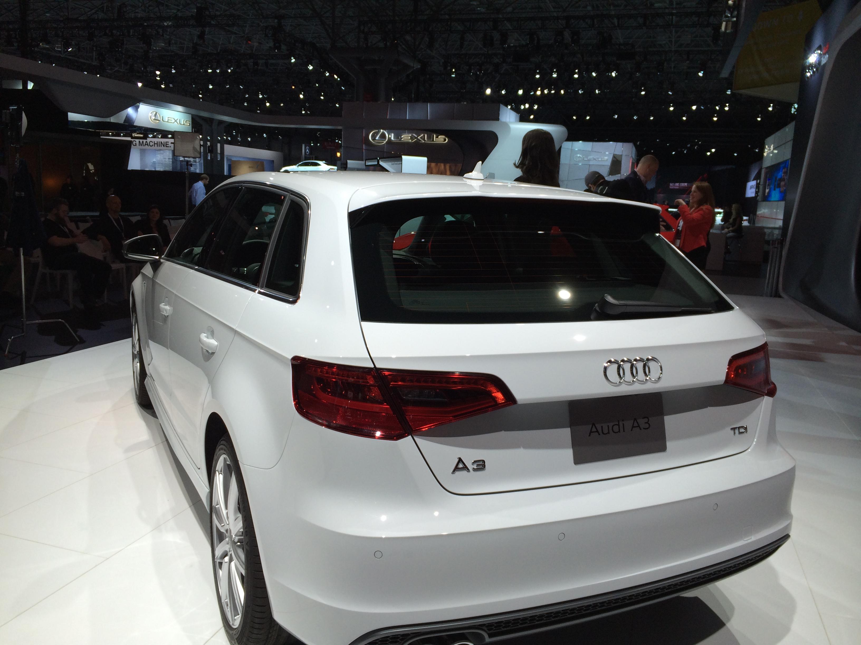 New York Auto Show 2016 Audi A3 Tdi Sportback
