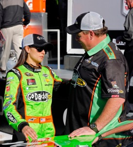 Crew Chief Tony Gibson and Danica Patrick