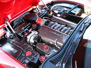 Mallett engine bay