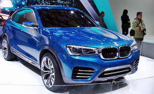 2014 New York International Auto Show Debuts 2015 Bmw X4