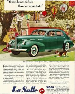 1940 LaSalle advertisement