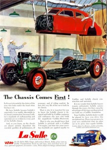 1940 LaSalle chassis ad