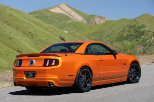 2011 Ford Mustang with Retractable Hardtop 1