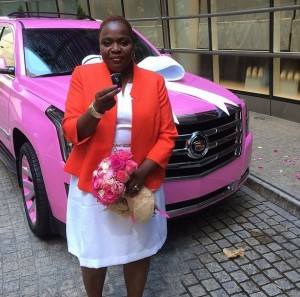Mis Rose w Escalade