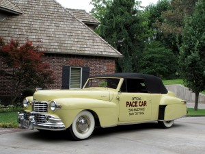 1946 Lincoln Pace Car