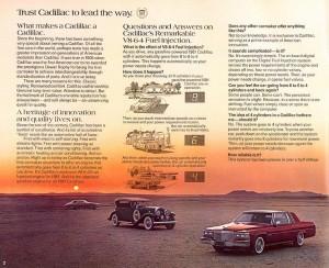 1981 Cadillac V8-6-4