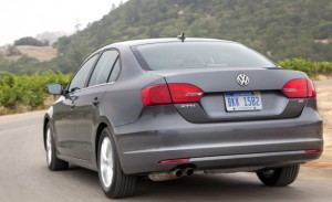 Like the rest of the car, the trunk of a VW Jetta is small on the outside, big on the inside. This is the least expensive German sedan available in the US. VW
