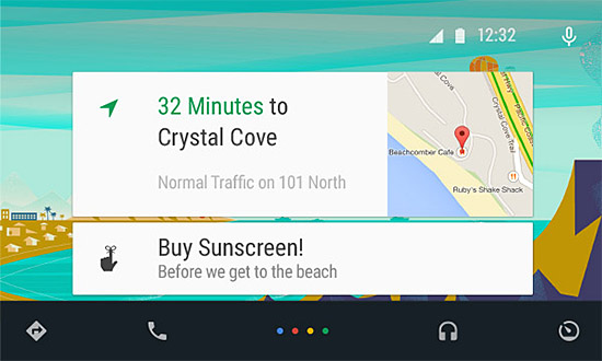 Google-Android-Auto-home
