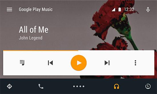 Google-Android-Auto-music