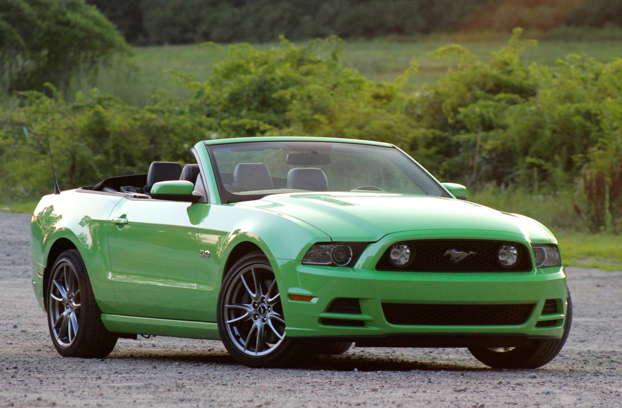 Review 2014 ford mustang gt convertible