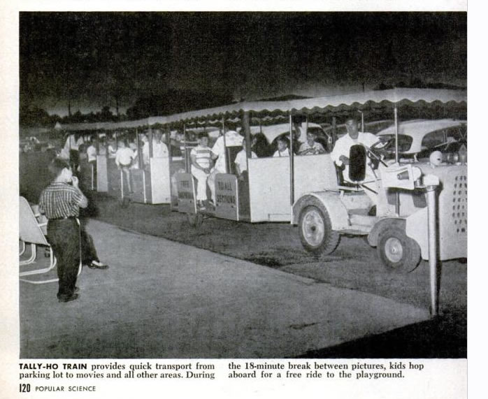 Johnny All-Weather Drive-In Tally Ho