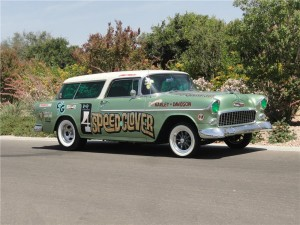 Lot #695 1955 Chevrolet Nomad Gasser