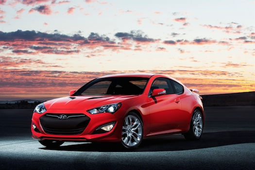 USED CARS 2013 Hyundai Genesis Coupe 38 Track   BestRide