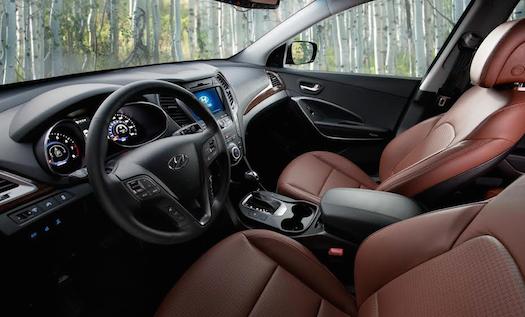 2014 Hyundai Santa Fe Interior Bestride
