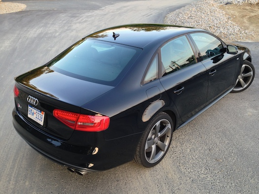 2014 audi s4 quattro s tronic hanging on with improved. Black Bedroom Furniture Sets. Home Design Ideas