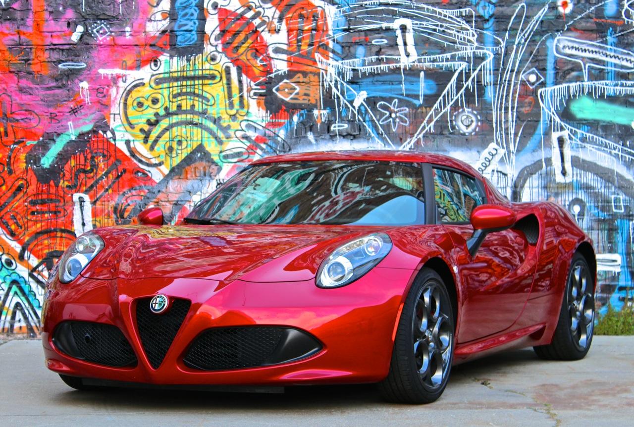 2015 Alfa Romeo 4C EXT