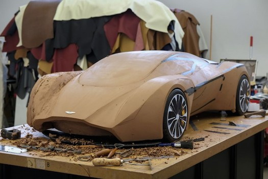 Aston Martin Wants Four Clay Model Apprentices Bestride