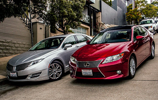 Lincoln MKZ and Lexus ES 350