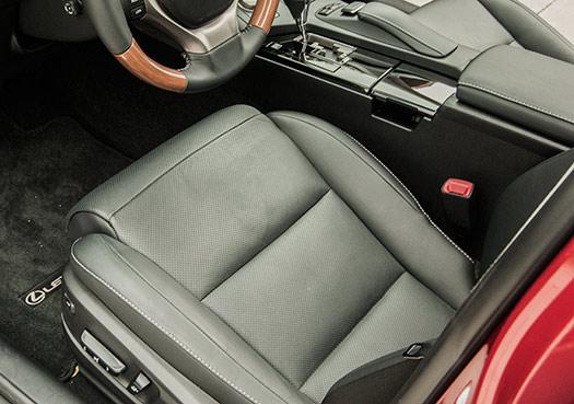 Lexus ES 350 cushion extender