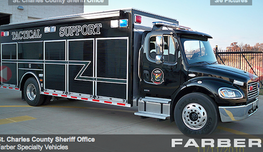 Ferguson-Missouri-Police-Vehicles-Equipment-Truck-Bestride