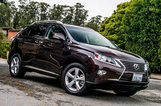 2015 lexus rx 350 a formative crossover carries on bestride. Black Bedroom Furniture Sets. Home Design Ideas